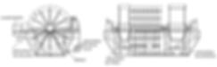 Classificador desaguador rotativoSimplex de roda dupla