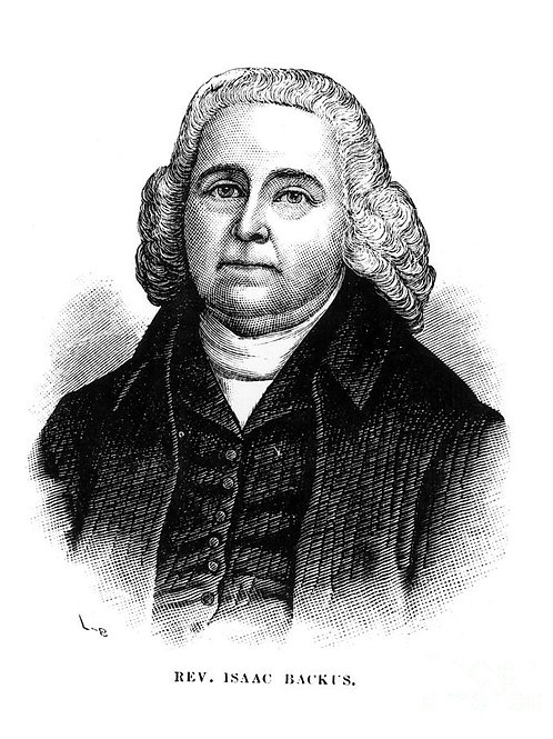 Isaac Backus Pamphlets: 1754 - 1789