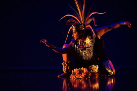 Elisa De La Rosa, a native of the Rio Grande Valley (Texas), Latinx dance artist, choreographer, educator, and performer.