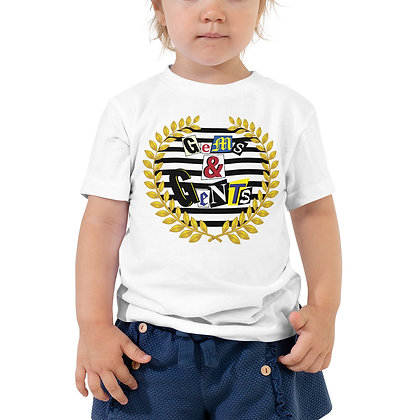 Gems & Gents Toddler Short Sleeve Ransom  Tee