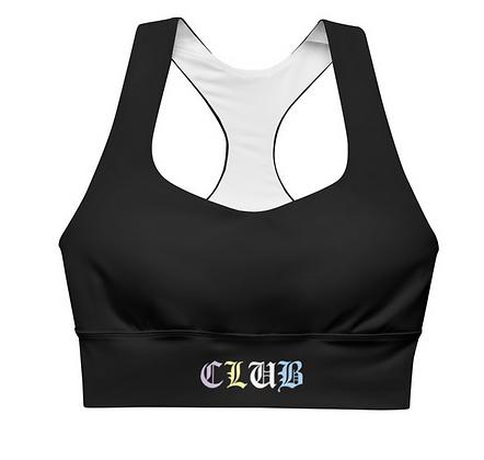 Pastel Club Longline sports bra