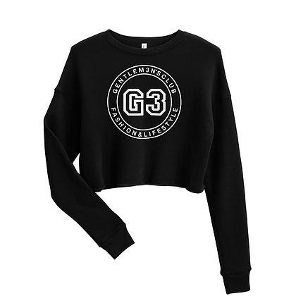 G3 Varsity logo Crop Sweatshirt