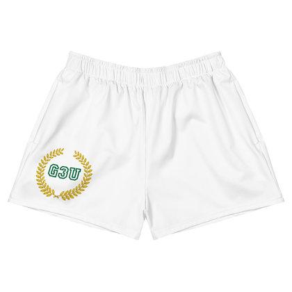 G3U HISTORY Women's Athletic Short Shorts