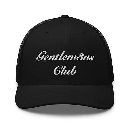 Gentlem3n's Club Script Trucker Cap