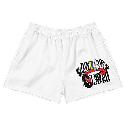 Women's Ransom White Athletic Short Shorts