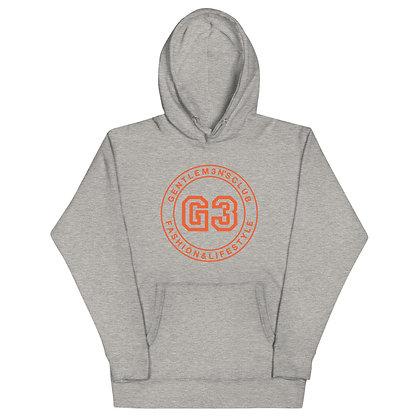 G3 Orange Varsity Logo Unisex Hoodie