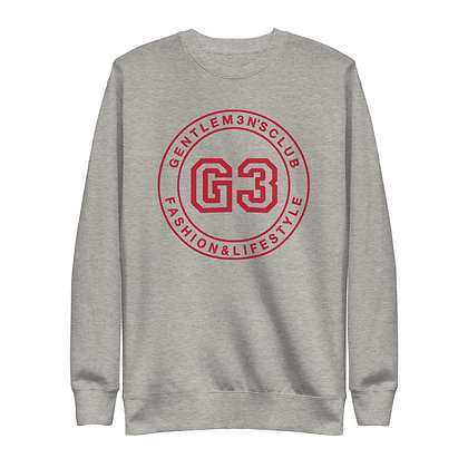 G3 Red Varsity Logo Unisex Sweatshirt