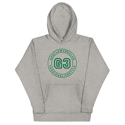 G3 Green Varsity Logo Unisex Hoodie