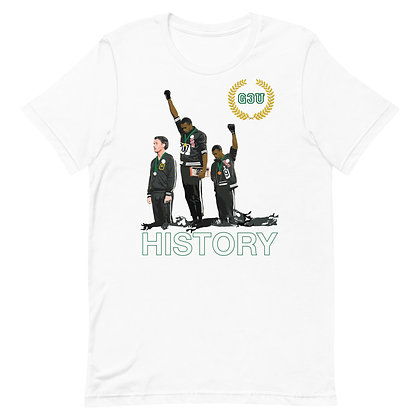 G3U HISTORY Short-Sleeve Unisex T-Shirt