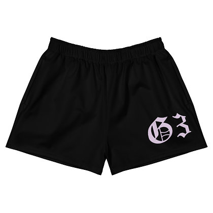 G3 Pastel Club Lilac Women's Athletic Short Shorts