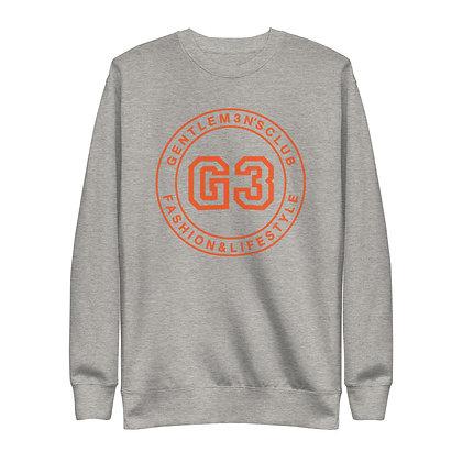 G3 Orange Varsity Logo Unisex Sweatshirt