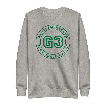 G3 Green Varsity Logo Unisex Sweatshirt