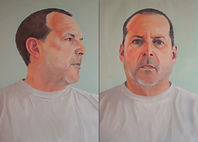 diptych portraits