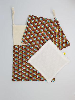 Lingette fibre d'eucalyptus Pack
