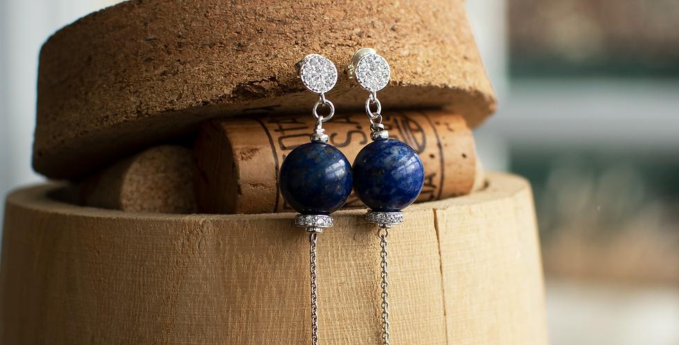 Lapiz Lazuli Earrings