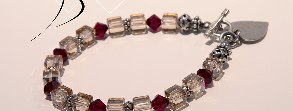 Swarovski Crystal & Sterling Silver