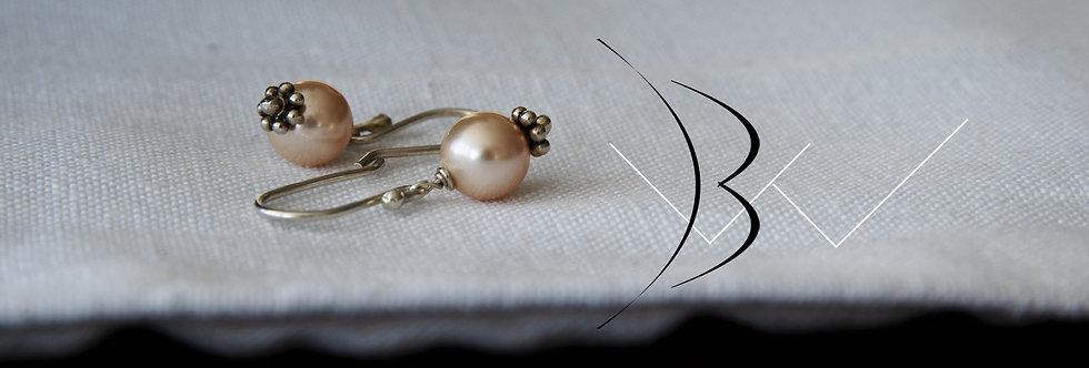 Swarovski Pearl Hook Earrings