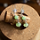 Thumbnail: Jadeite & Silver Flower Earrings