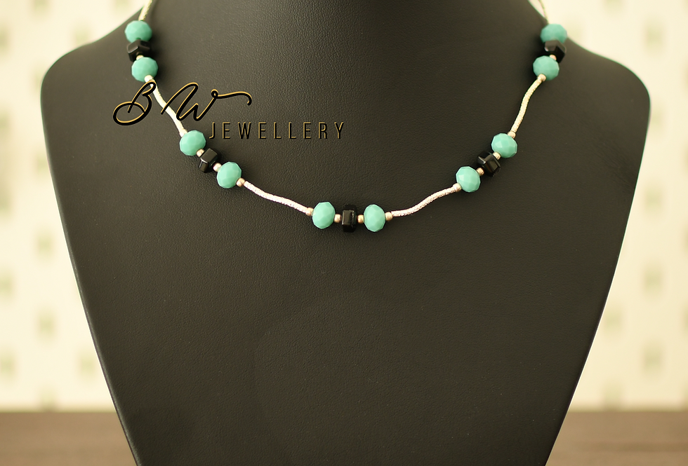Onyx, Turquoise, & Silver