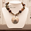 Thumbnail: Water Stone & Mother Of Pearl Pendant