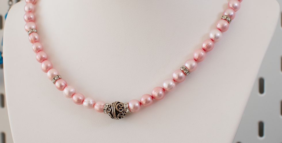 Pink Freshwater Pearl Matinee
