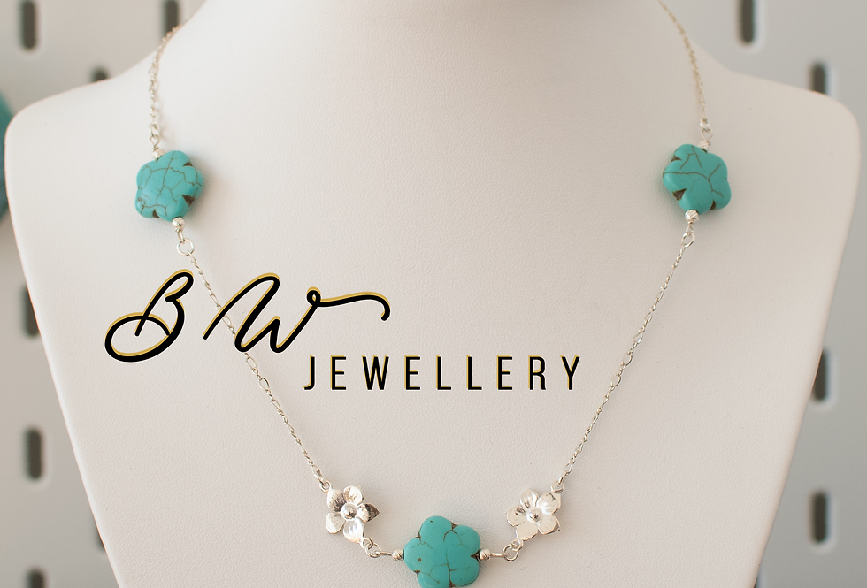 Turquoise & Sterling Silver Matinee