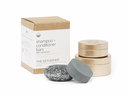 The Detoxifier Travel Set ( with travel tins)