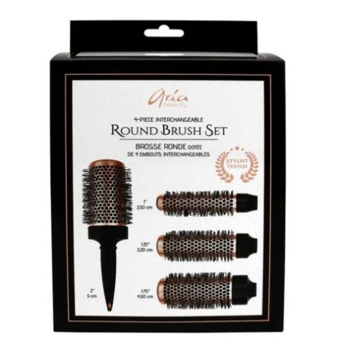 Aria Round Brush Set