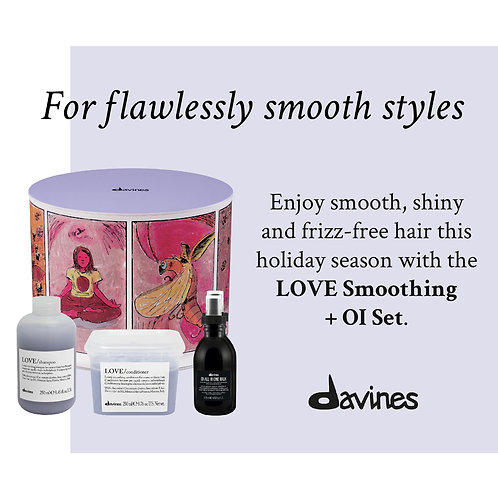 Davines Love Smoothing + Oi  Box Set