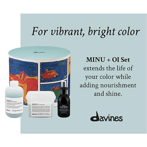 Davines Minu+Oi Box Set