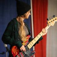 Playing a Prescott Bass!