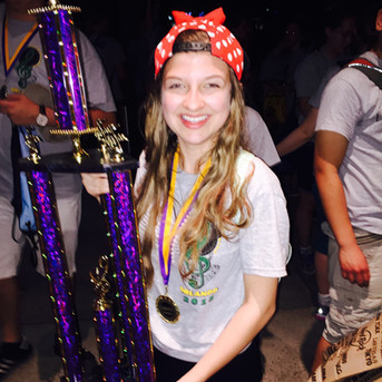 Wilde Lake High School 2015; winning trophies in Florida!
