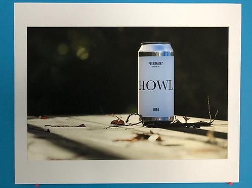 Verdant 'Howl' mounted print