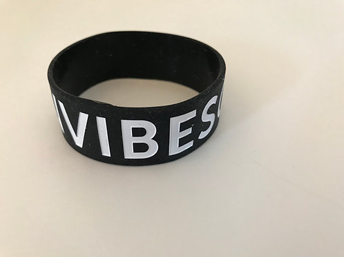 Vibes on Vibes Silicon Wristbands