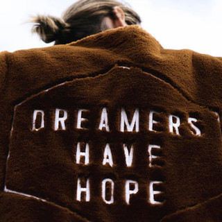 Dreamers Have Hope Brown Festival Fringe Jacket