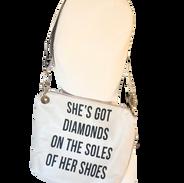 Paul Simon Custom Crossbody Handbag
