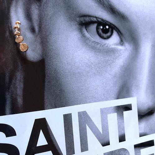 Brand New Gold Ear Crawlers Earrings