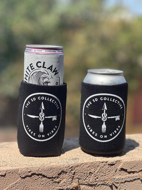Recycled Neoprene Beer Koozies Can Coolers LOGO