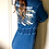 Thumbnail: NEW custom Made Long Sleeve Denim Front Zip Jumpsuit Bowie We Are All Stardust