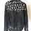 Thumbnail: Honorable Citizens custom made black fringe HIPPIES statement jacket