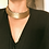 Thumbnail: Vintage 1970s Woven Braided Gold thread choker collar necklace