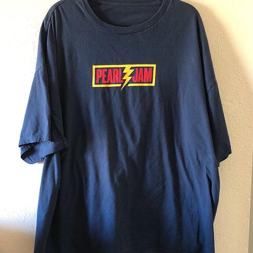 Vintage Pearl Jam Navy Blue 2013 Tour Band T shirt