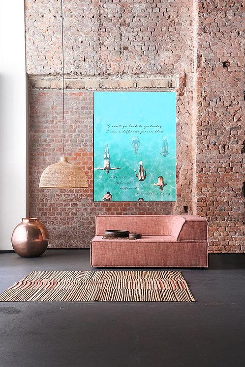 Be Different High Resolution Digital Print