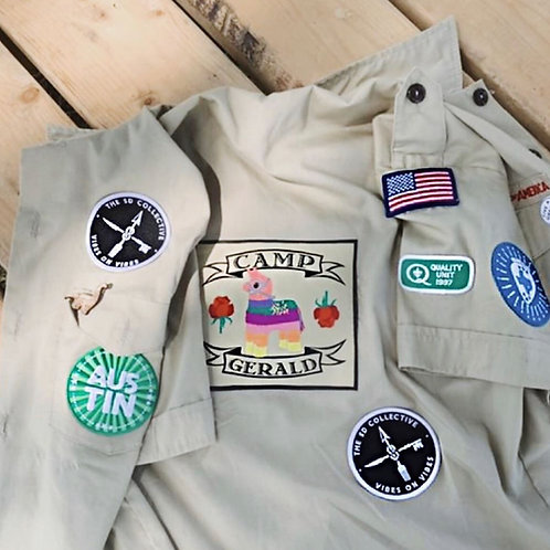 """Single 3"""" Iron-on Patches"""