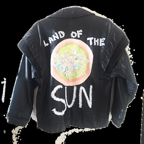 Land of the Sun Leather Moto Jacket