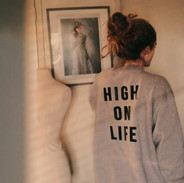 High on Light Custom 90s Snap Jacket
