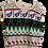Thumbnail: Vintage 1970s Pandora Patterned Knit Wool Sweater Vest