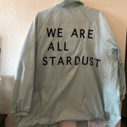 nylon snap bomber jacket We are all stardust