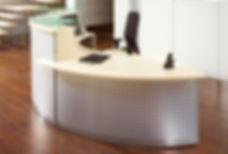 resepsjonsdisk, kontormøbel, resepsjonsmøbel, stilig resepsjon, www.reolnordvest.no, Reolteknikk Nord Vest AS