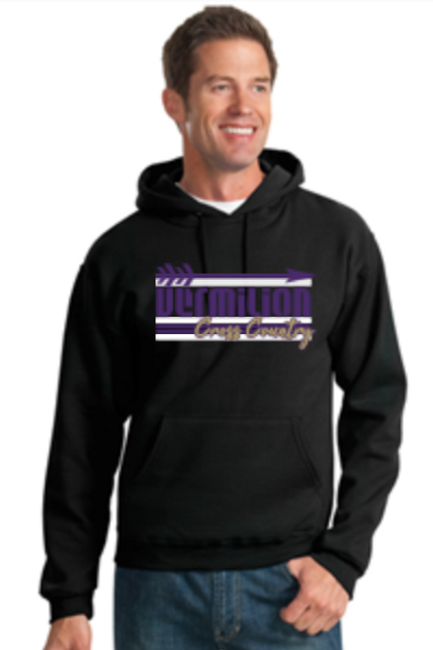 Cross Country Basic Fleece Crew or Hoodie  Unisex or Youth Sailor
